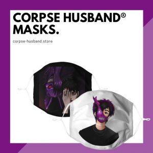 Corpse Husband Face Masks