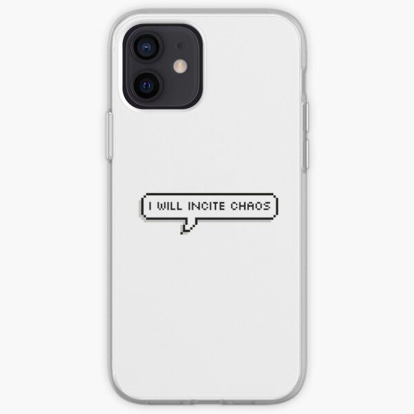 I WILL INCITE CHAOS - Corpse Husband iPhone Soft Case RB2605 product Offical Corpse Husband Merch