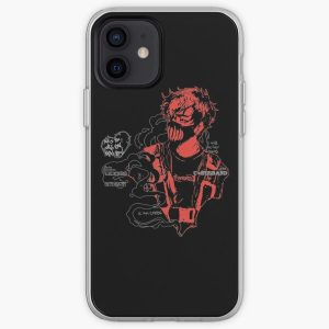 Corpse Husband Design | I will incite chaos iPhone Soft Case RB2605 product Offical Corpse Husband Merch