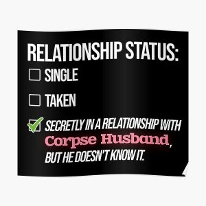 Relationship with Corpse Husband Poster RB2605 product Offical Corpse Husband Merch