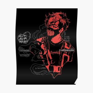 Corpse Husband Design | I will incite chaos Poster RB2605 product Offical Corpse Husband Merch
