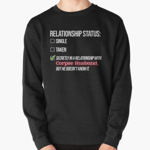 Relationship with Corpse Husband Pullover Sweatshirt RB2605 product Offical Corpse Husband Merch