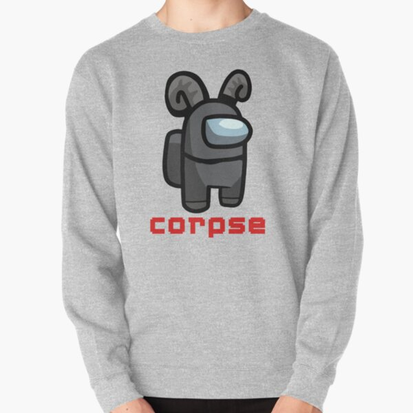 Corpse Husband - Among Us Character Crewmate  Pullover Sweatshirt RB2605 product Offical Corpse Husband Merch