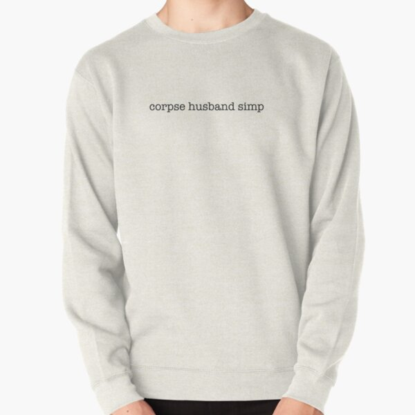 Corpse Husband Simp Pullover Sweatshirt RB2605 product Offical Corpse Husband Merch
