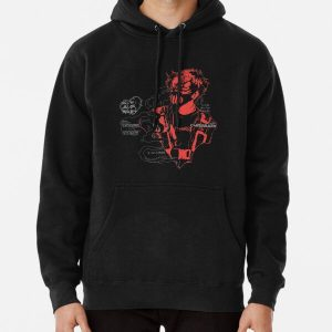 Corpse Husband Design | I will incite chaos Pullover Hoodie RB2605 product Offical Corpse Husband Merch