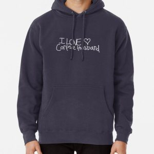 I love Corpse Husband Pullover Hoodie RB2605 product Offical Corpse Husband Merch