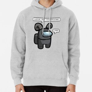 Corpse Husband - Among Us Character Crewmate  Pullover Hoodie RB2605 product Offical Corpse Husband Merch