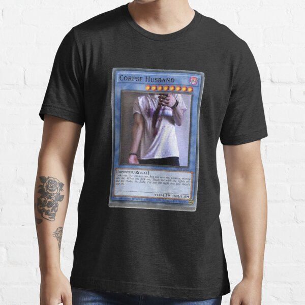 Corpse Husband Ritual Yu-Gi-Oh Card - Dragoste Essential T-Shirt RB2605 product Offical Corpse Husband Merch