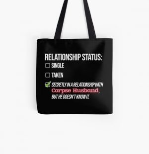 Relationship with Corpse Husband All Over Print Tote Bag RB2605 product Offical Corpse Husband Merch