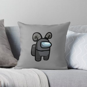 Corpse Husband - Among Us Character Crewmate  Throw Pillow RB2605 product Offical Corpse Husband Merch