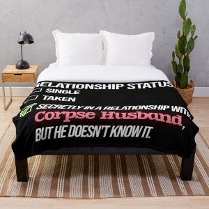 Relationship with Corpse Husband Throw Blanket RB2605 product Offical Corpse Husband Merch
