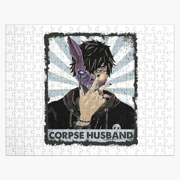 Corpse Husband hands Jigsaw Puzzle RB2605 product Offical Corpse Husband Merch