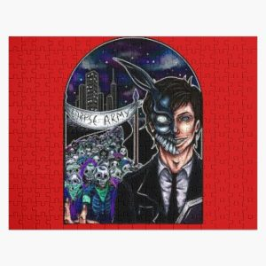 Corpse Husband Army Jigsaw Puzzle RB2605 product Offical Corpse Husband Merch