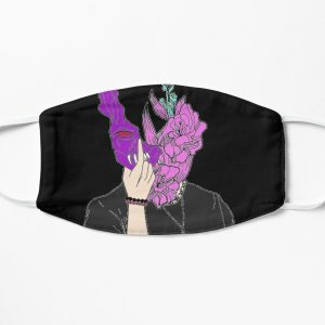 corpse husband  Flat Mask RB2605 product Offical Corpse Husband Merch