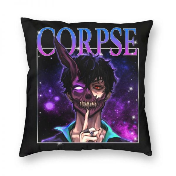 Cool Corpse Husband Pillowcover Home Decor Cushion Cover Throw Pillow for Sofa Double sided Printing - Corpse Husband Merch
