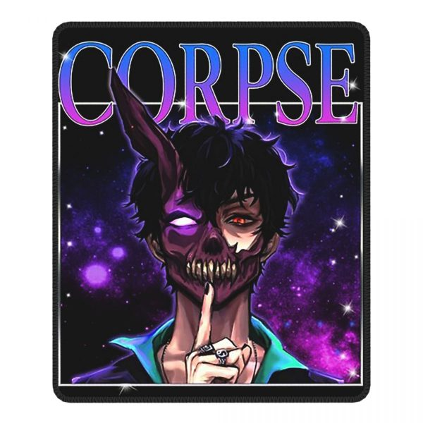 Cool Corpse Husband Vintage Mouse Pad with Locking Edge MousePad Natural Rubber PC Table Decoration Cover - Corpse Husband Merch