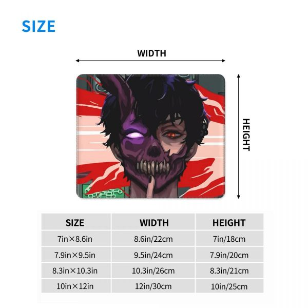 Corpse Husband Gaming Mouse Pad Non Slip Mouse Mats Rubber PC Table Decoration Cover 4 - Corpse Husband Merch